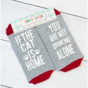 🌺 Simply Southern Fun Saying Simply Socks - Cat